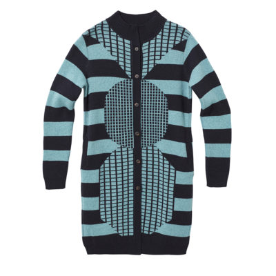 Sweaters - Totem Cardigan - Blue Navy - Front