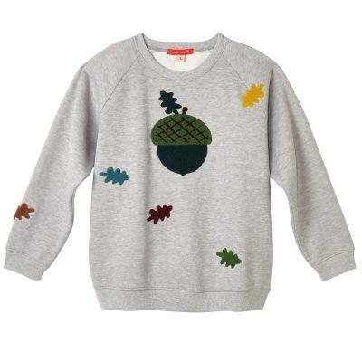 Donna Wilson - Acorn Sweatshirt - Grey