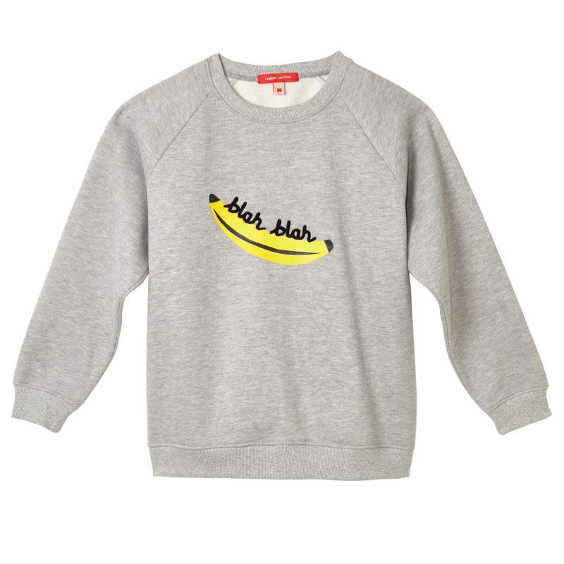 Donna Wilson - Banana Sweatshirt - Grey