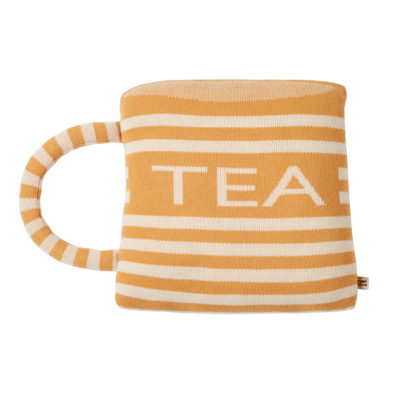 Tea Cup Shaped Cushion - Donna Wilson