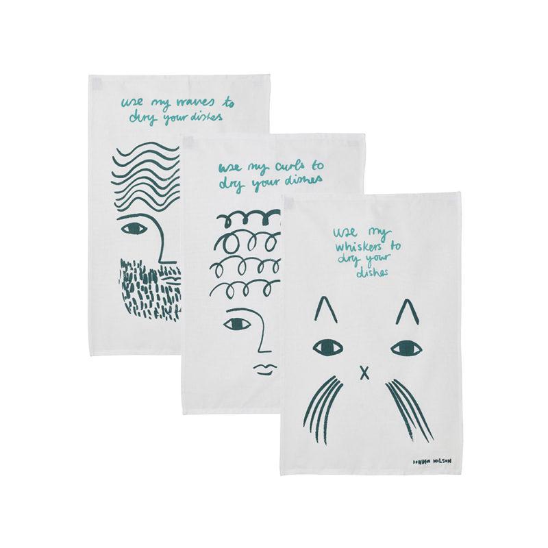 Tea Towel Bundle - Donna Wilson