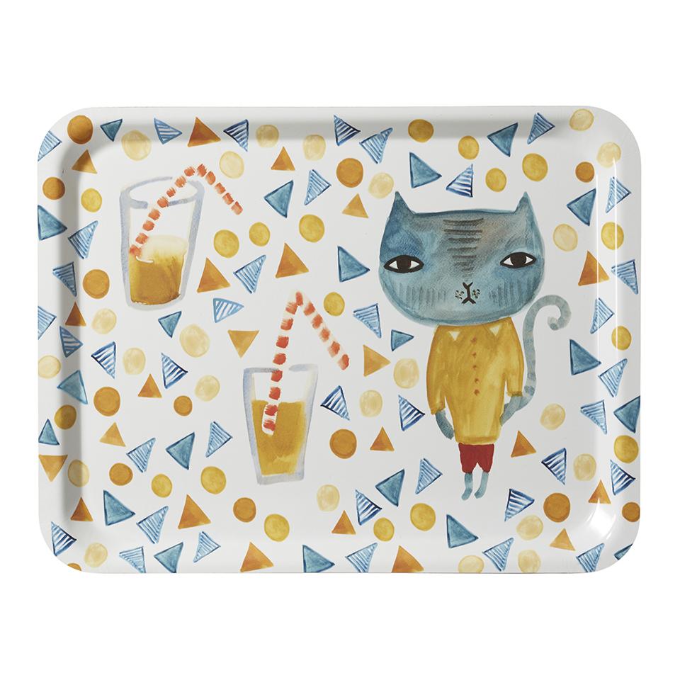 Tea Tray - Cool Cat