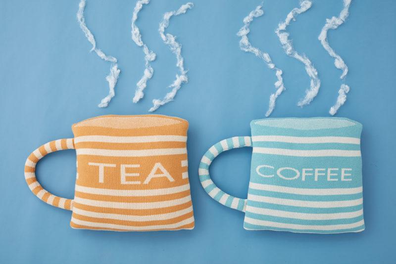 Tea and Coffee Cushions