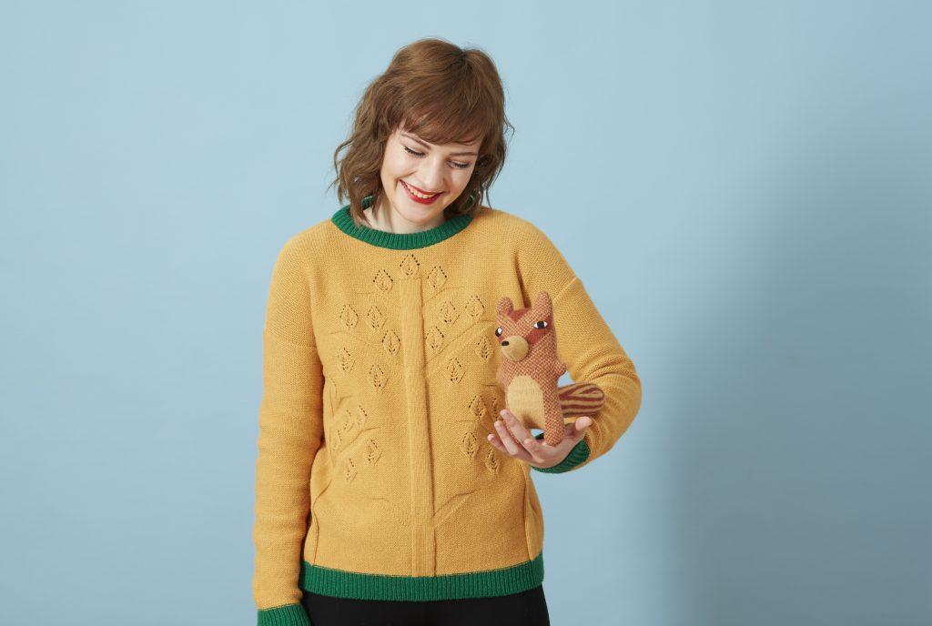 Three Tree Sweater Chuck Chipmunk Donna Wilson