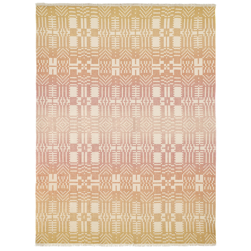 Throw - Here Comes the Sun Throw - Front - Donna Wilson