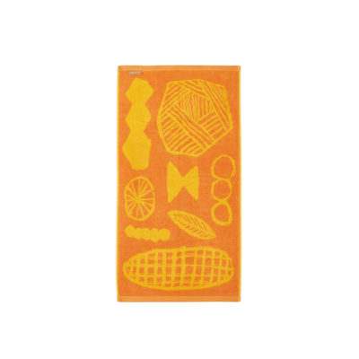Marmalade Mix Hand Towel - Reverse - Donna Wilson