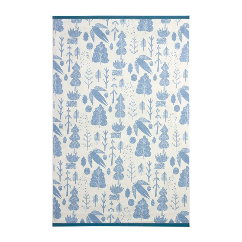 Donna Wilson - Bird & Tree Bath Sheet - Cream