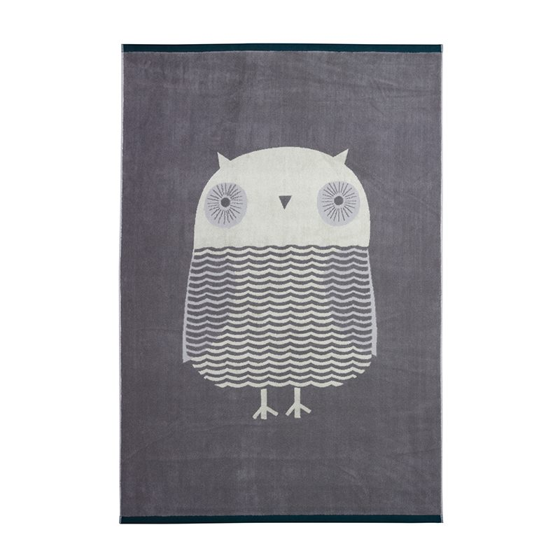Donna Wilson - Owl Bath Sheet - Grey