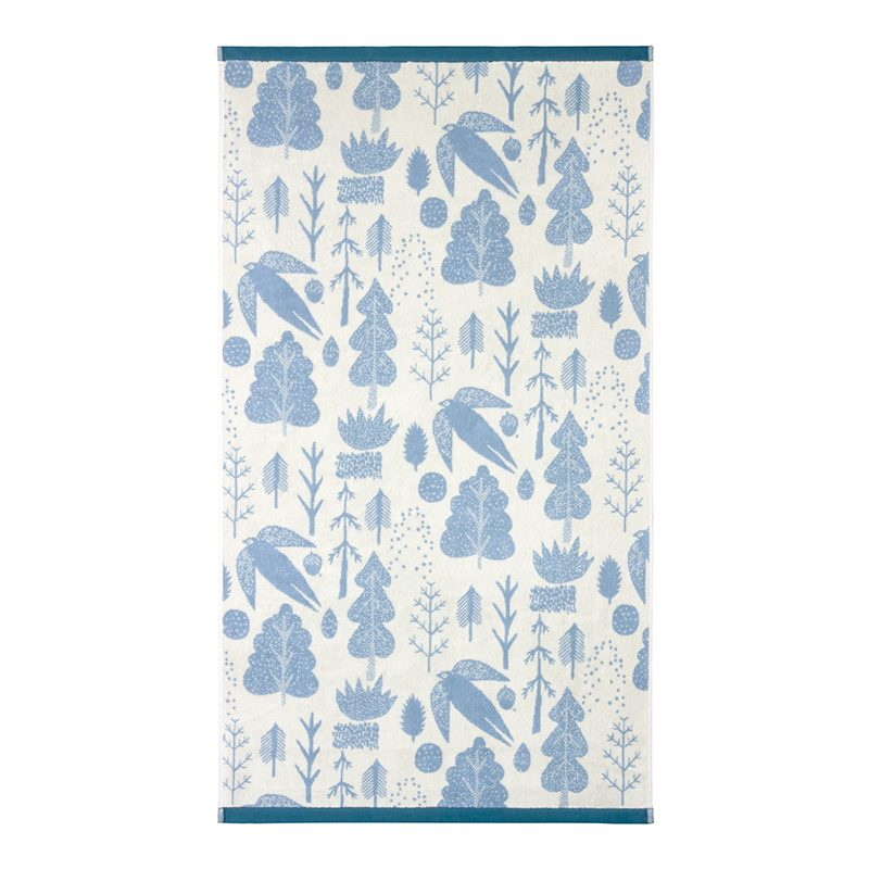 Donna Wilson - Bird & Tree Bath Towel - Cream