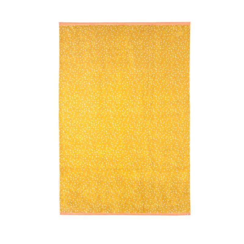 Donna Wilson - Polka Dot Bath Sheet - Mustard