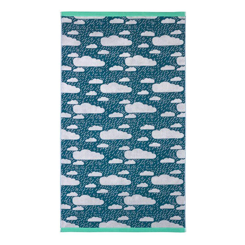 Donna Wilson - Rainy Day Bath Towel - Green