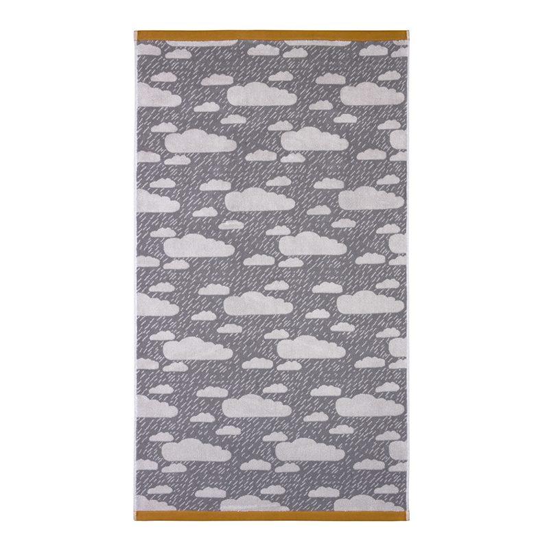 Donna Wilson - Rainy Day Bath Towel - Grey