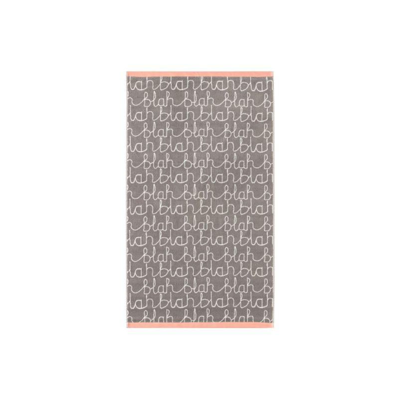 Donna Wilson - Blah Blah Bath Towel - Grey