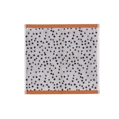 Donna Wilson - Polka Dot Face Towel - Cream