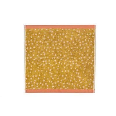 Donna Wilson - Polka Dot Face Towel - Mustard