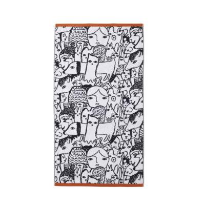Folk Bath Towel - Donna Wilson