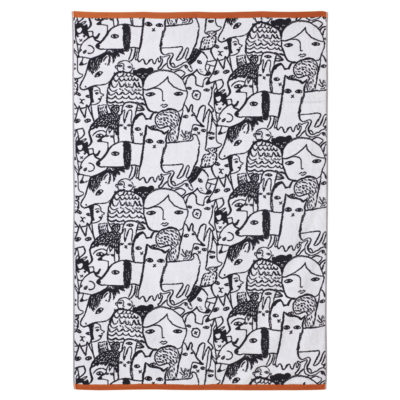 Cat Sheet Towel - Donna Wilson