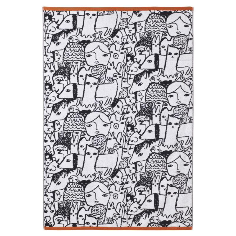 Folk Sheet Towel - Donna Wilson