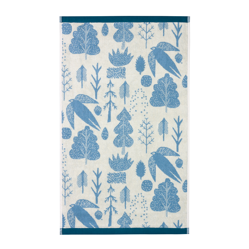 Donna Wilson Bird & Tree Towels Cream