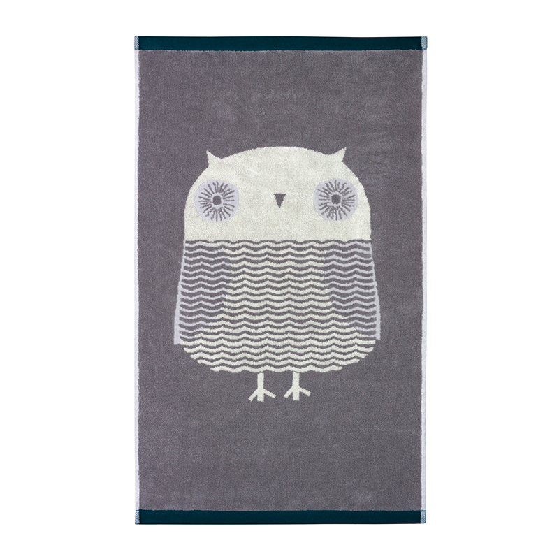 Donna Wilson Towels Owl Grey