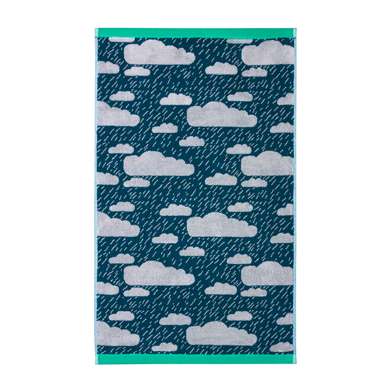 Donna Wilson - Rainy Day Towels - Green