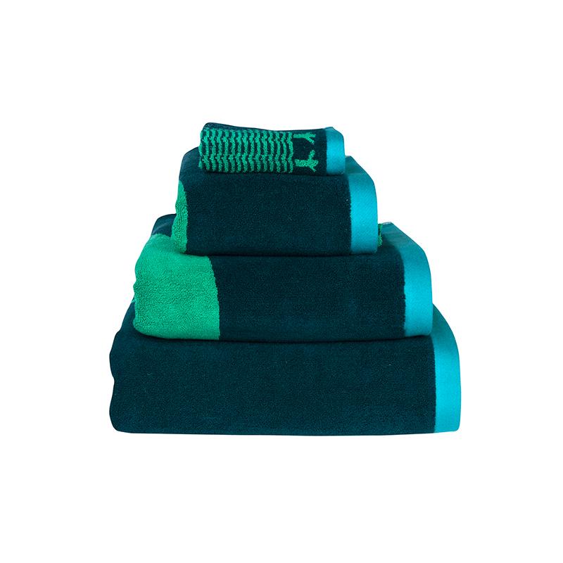 Donna Wilson Towel Set Owl Green