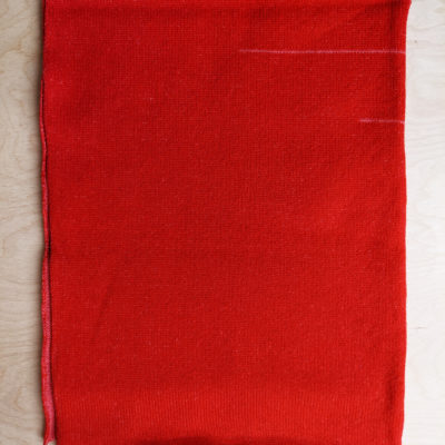 Two Tone Scarf - Red - Slight Second