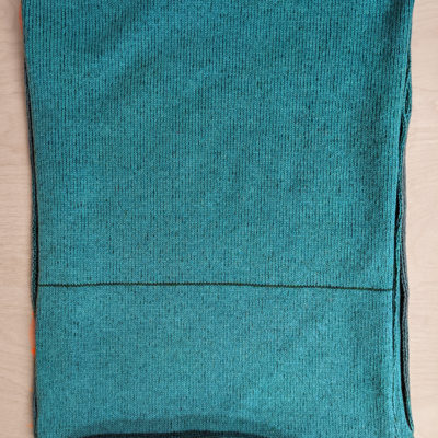 Two Tone Scarf - Green - Slight Second
