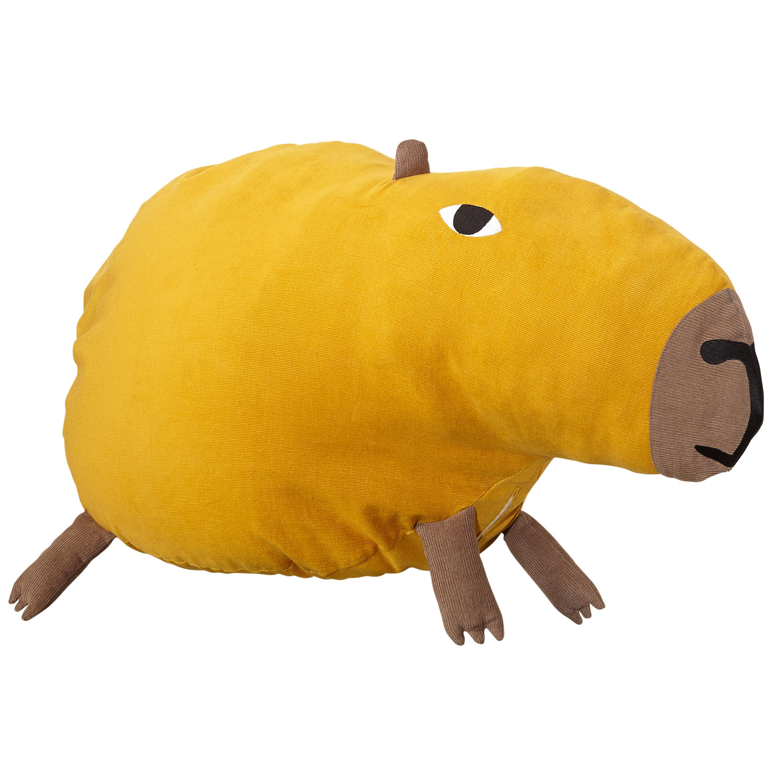 Donna Wilson Wild Things Curious Capybara Bean Bag