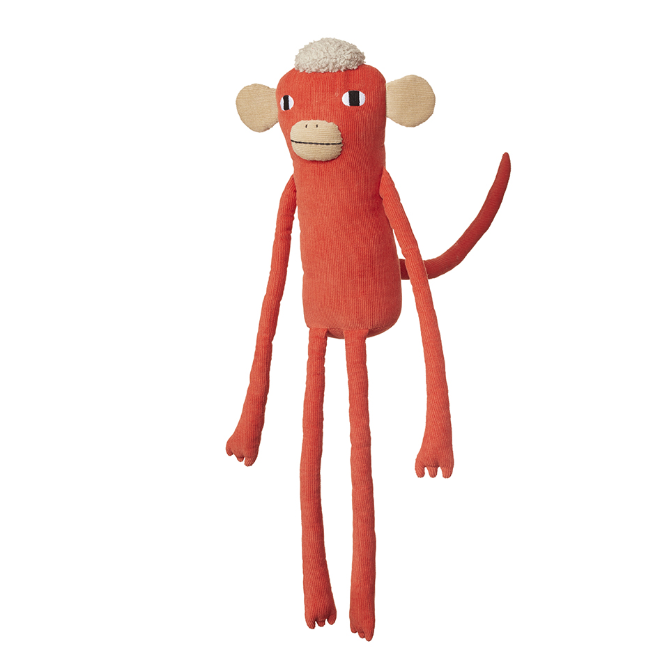 Donna Wilson Wild Things Meddling Monkey Toy