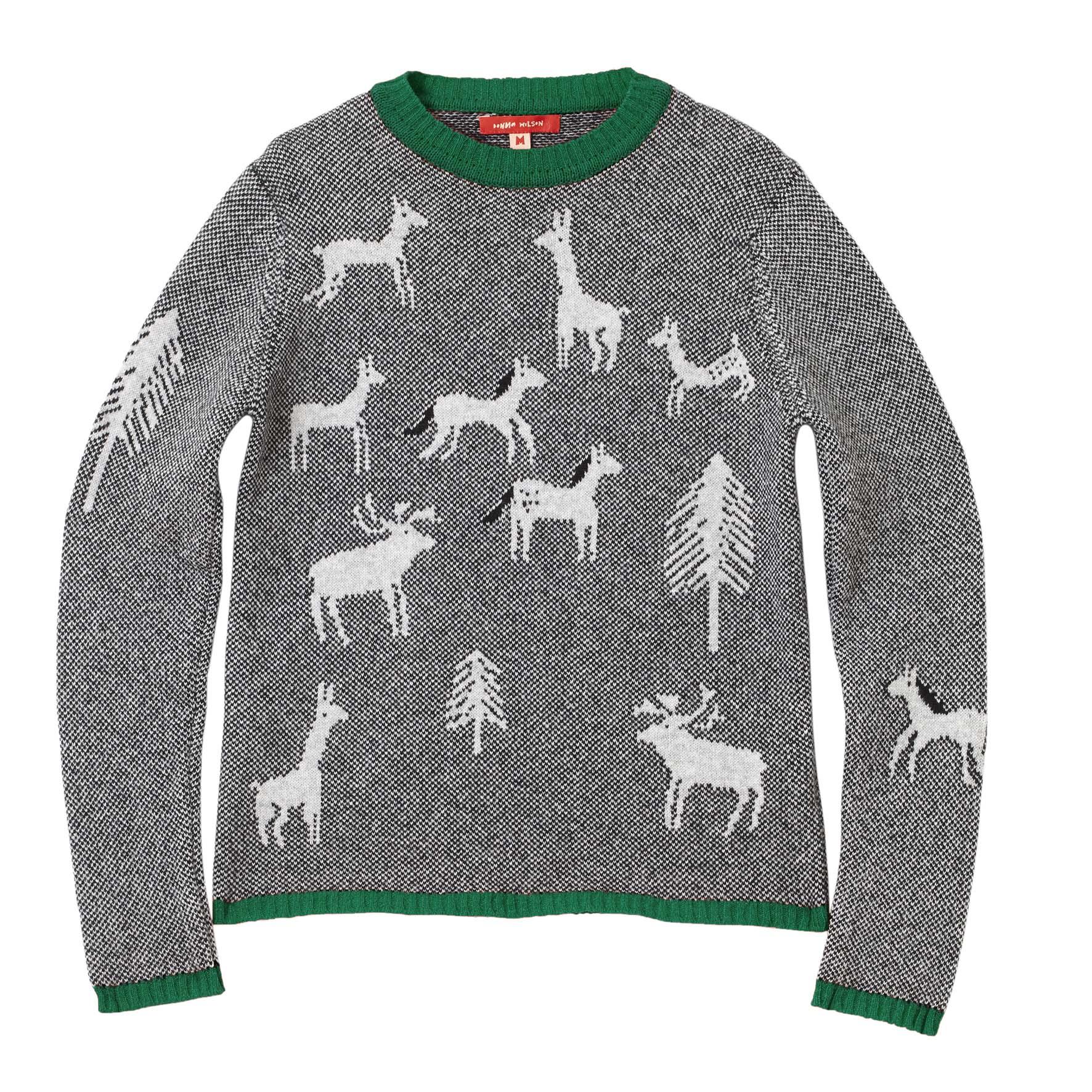 Wild Woodland Sweater Green