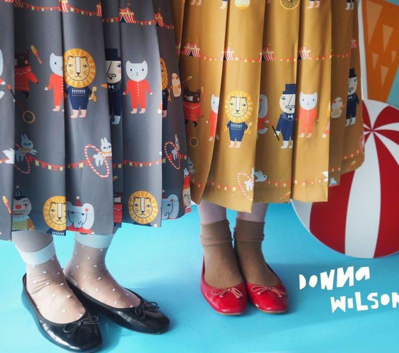 Mushroom Circus Pleat Skirts - Donna Wilson