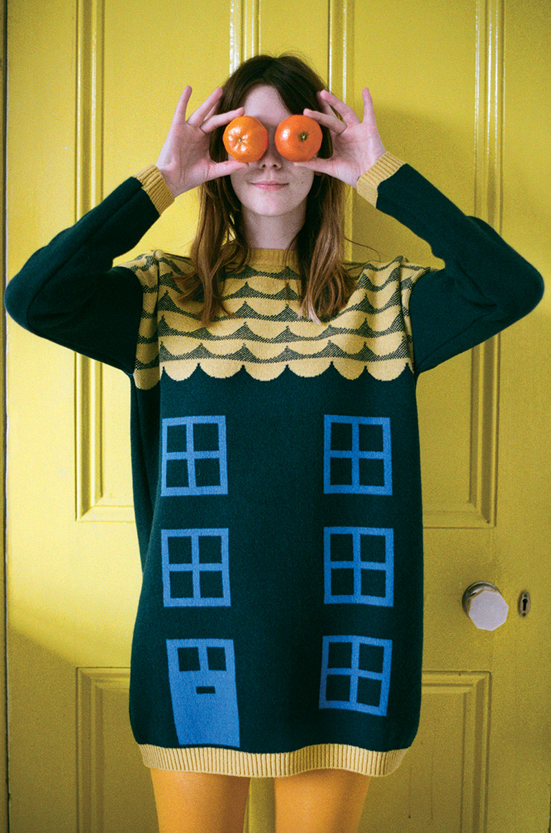 Donna Wilson House Long Sweater