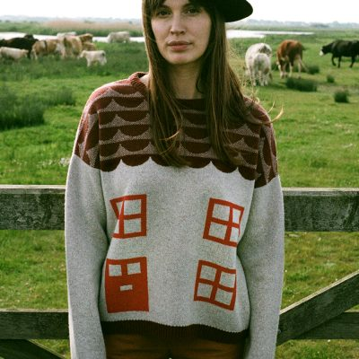 Bothy Sweater - Grey - Donna Wilson