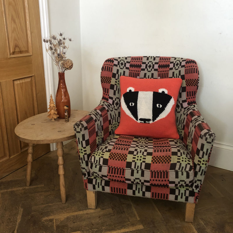 Knit Your Own Donna Wilson Badger Cushion