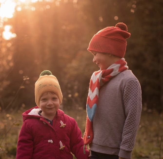 Donna Wilson - Kids' Mog Hat + Kids' Owl Hat
