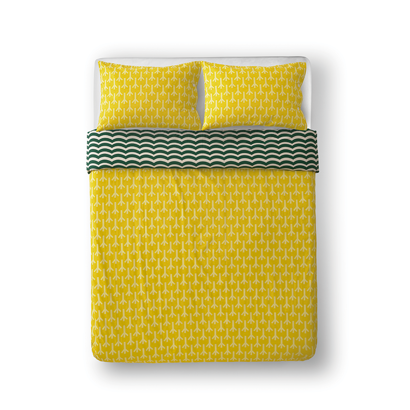 Donna Wilson Bird Feet Bed Set Yellow