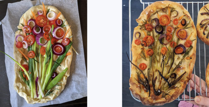 Make Your Own Colourful Bouquet Bread