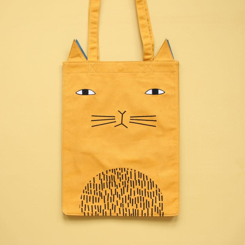 Mog Tote Bag - Donna Wilson