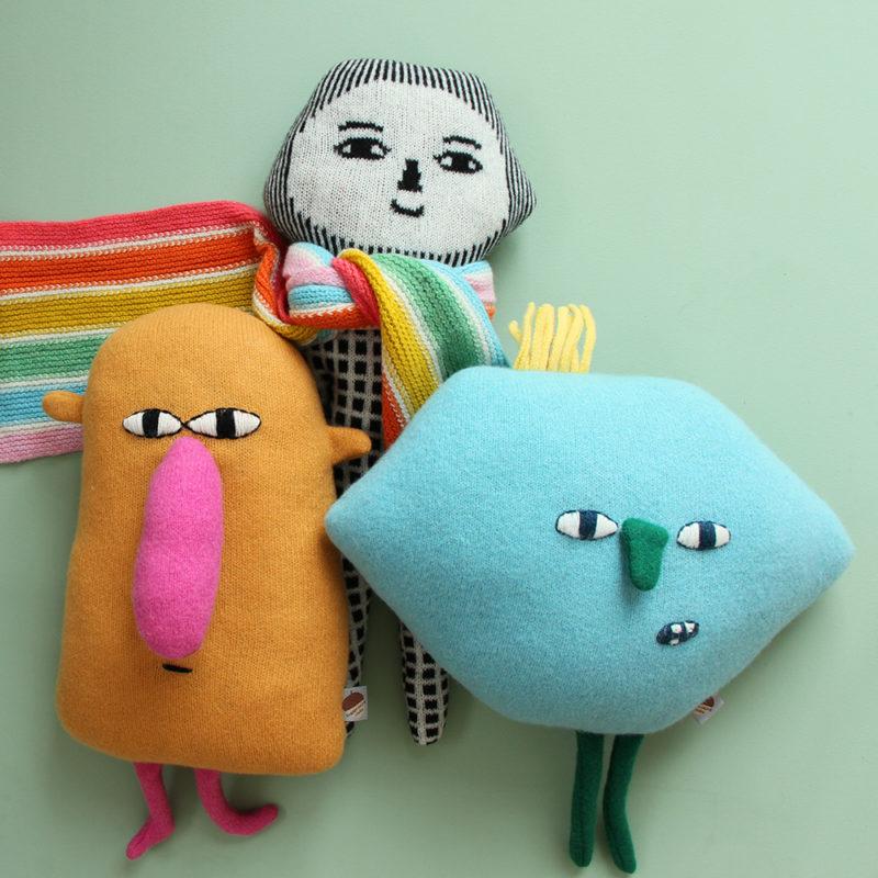 Hector, Parker & Nippy - Donna Wilson