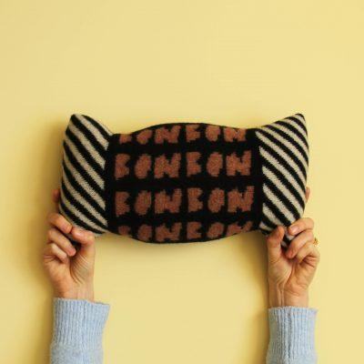 Donna Wilson - Bon Bon Cushion - Black