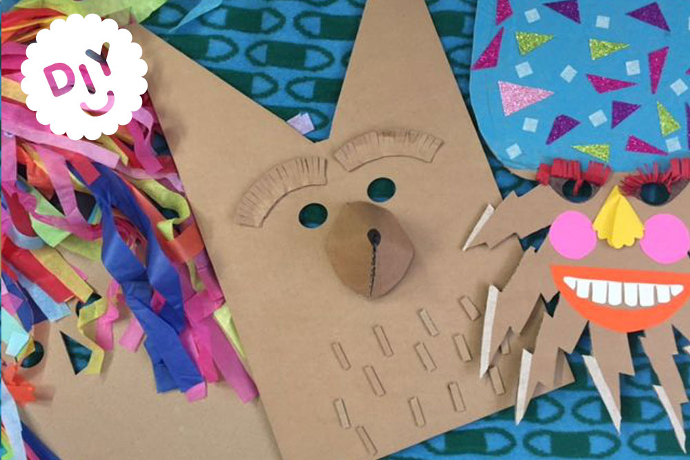 Make Your Own Fox Mask - Donna Wilson