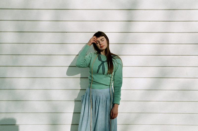 Donna Wilson - Scout Neck Sweater - Jade