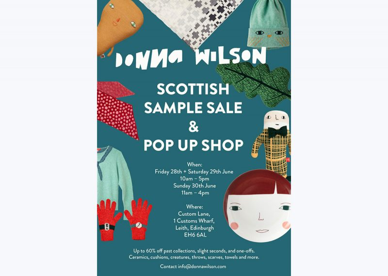 Edinburgh Sample Sale