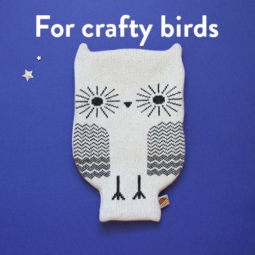 For Crafty Birds