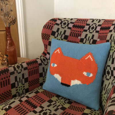 Knit Your Own Donna Wilson Fox Cushion