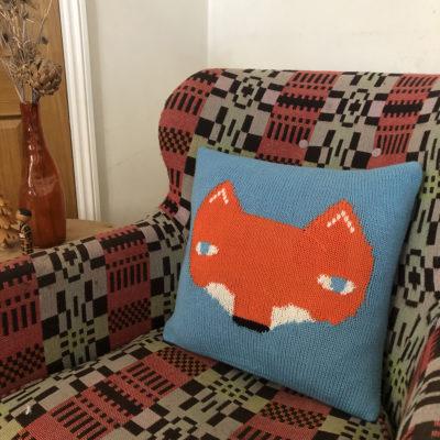 Knit Your Own Donna Wilson Fox Cushion