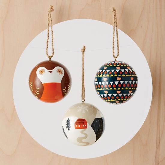 land-of-nod-simply-christmas-geo-ornament-group