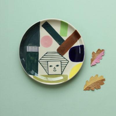 Kaleido Dinner Plate - Donna Wilson