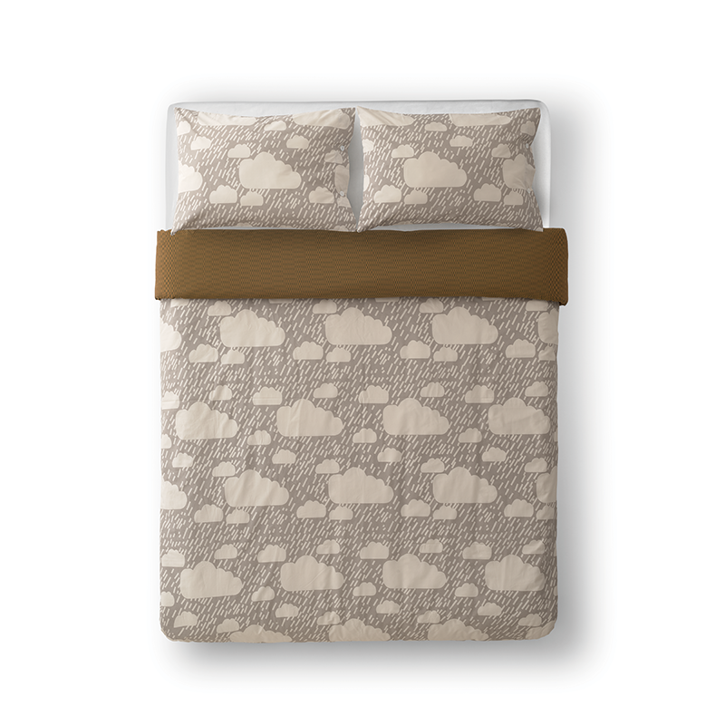 Donna Wilson Rainy Day Bed Set Grey